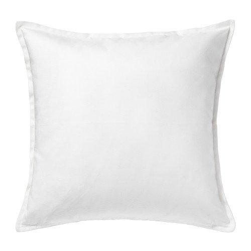 Ikea GURLI - Cushion cover, White - 50x50 cm (Pack of 2)