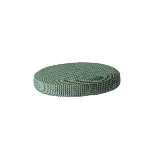 Vosarea Breathable Round Bar Stool Cover Elastic Padding Cushion Protectors(Army Green)
