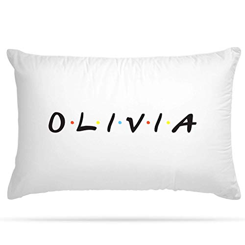 Shopsharks PERSONALISED Cushion Cover Pillow Case Friends TV Series Inspired Name Gift