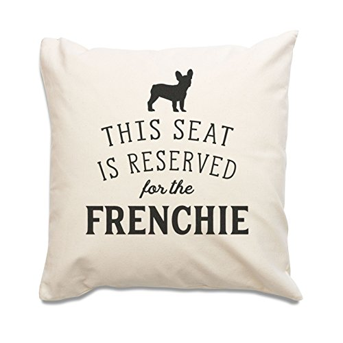 NEW - RESERVED FOR THE FRENCHIE - Cushion Cover - French Bulldog Gift Present Xmas Birthday