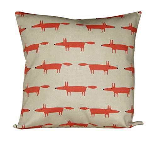 Scion Little Fox Cream & Ginger Cushion Cover
