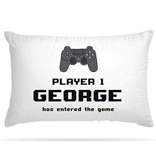 Shopsharks PERSONALISED Cushion Cover Pillow Case Console Gamer Gift (101)