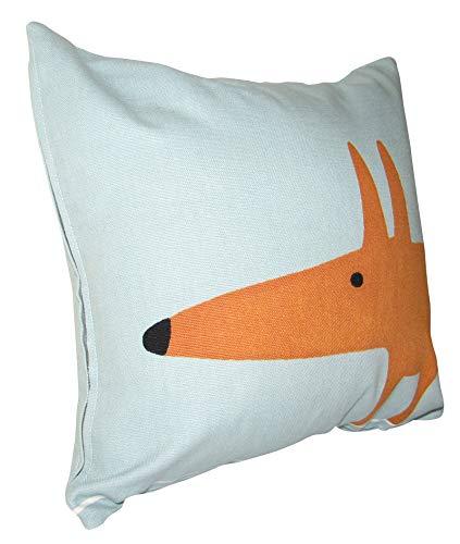 Scion Mr Fox Sky Blue Cushion Cover (12'' x 12'')