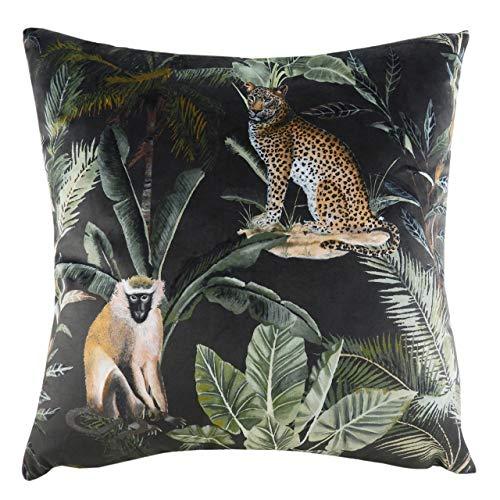 Evans Lichfield Kibale Animals Cushion Cover, Multi, 43 x 43cm