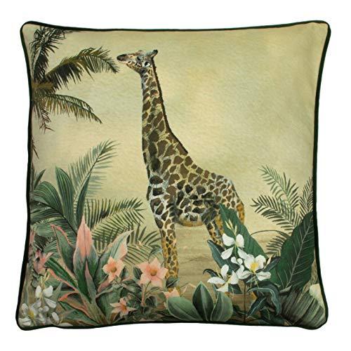 Evans Lichfield Manyara Cushion Cover, Giraffe, 43 x 43cm