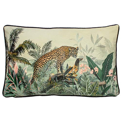 Evans Lichfield Manyara Cushion Cover, Leopard, 30 x 50cm