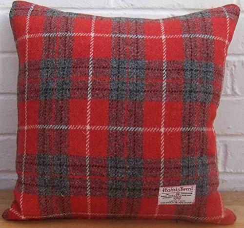 Harris Tweed Cushion Cover. Handmade. .. 18in x 18in ref.cc236/18