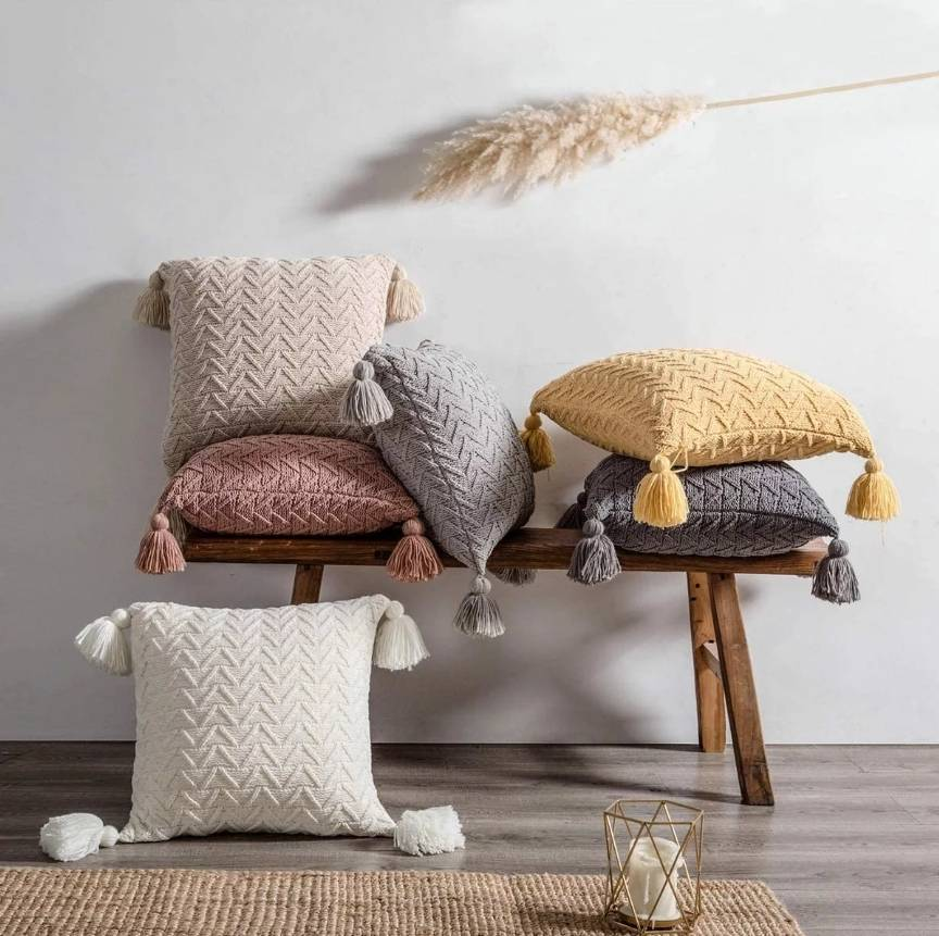multicolored cushion covers homepage