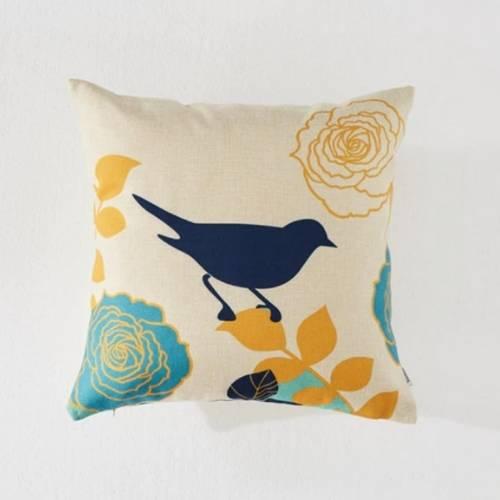 one bird cushion covers