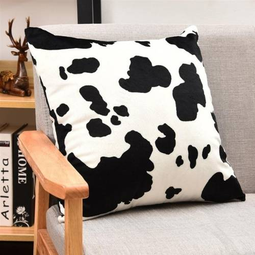 one cow cushion cover