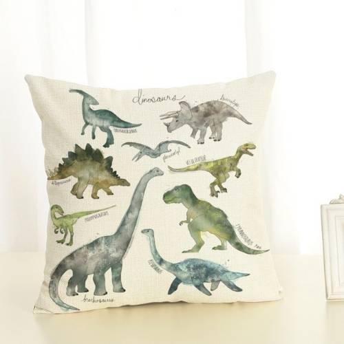 one dinosaur cushion cover