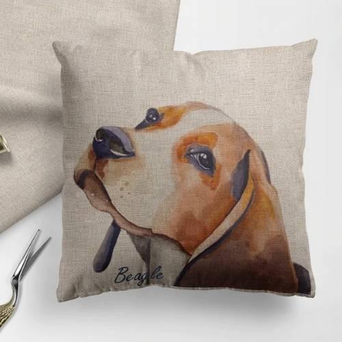 one dog cushion cover