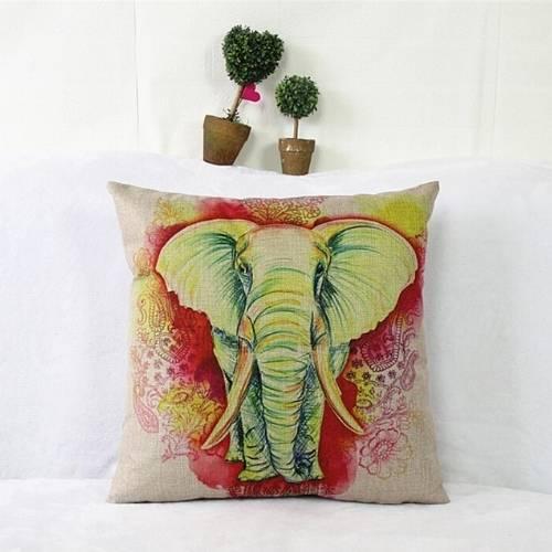 one elephant cushion cover