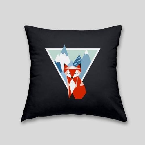 one fox cushion cover