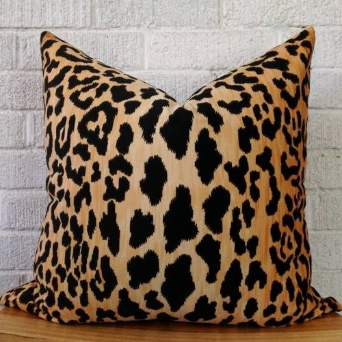 one leopard cushion cover