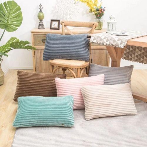 six rectangle cushion covers
